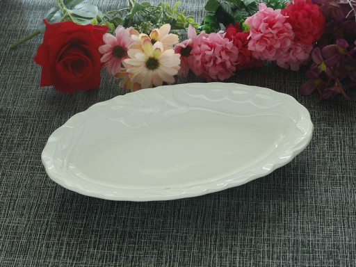 Rectangular Platter Model : Oval Daisy