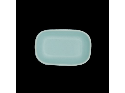 Rounded Rectangular Saucer Plate