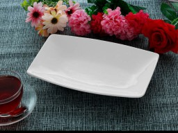 Rectangular Platter Model : Plain Basak