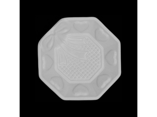 Nuts plate octagonal
